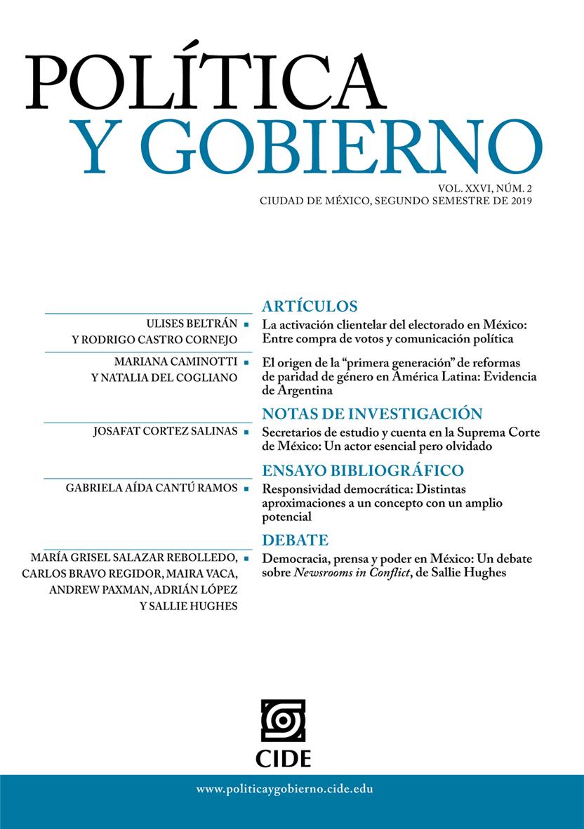 Vol. 26, Núm. 2 (2019)
